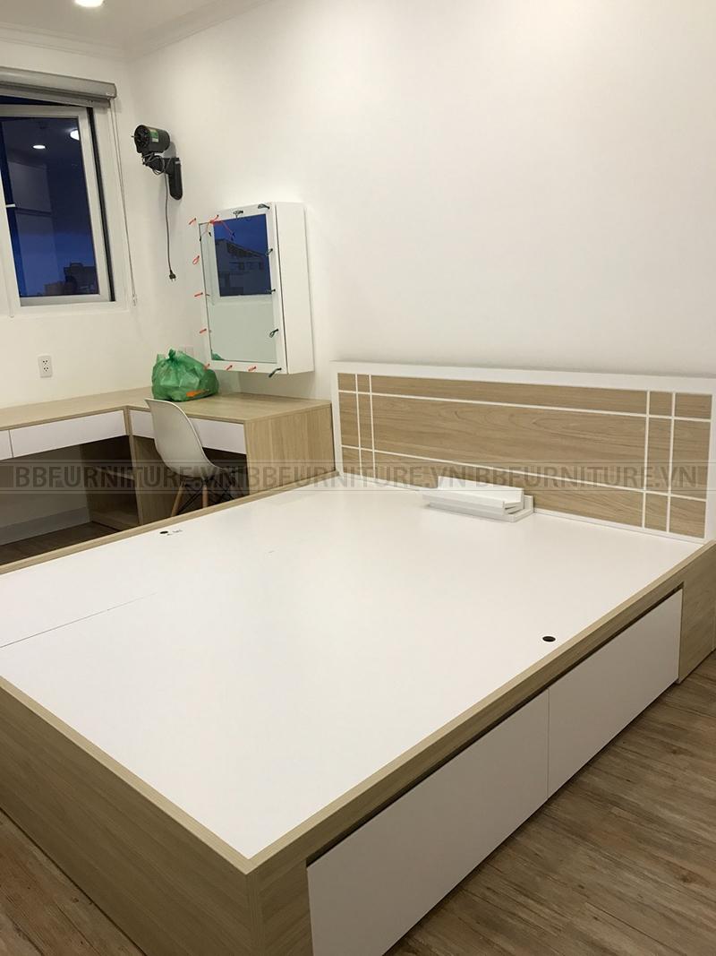 Công trình thực hiện thiết kế và thi công nội thất nhà chị Hoa, Quận Bình Thạnh